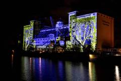 Open-Air-Theater-Video-Projektion