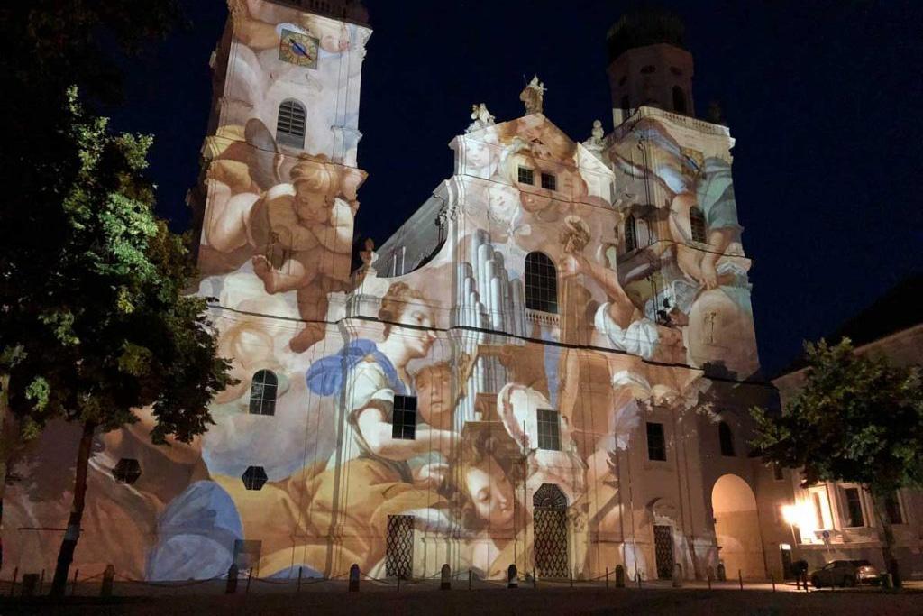 Videokunst-Kirche-Dom