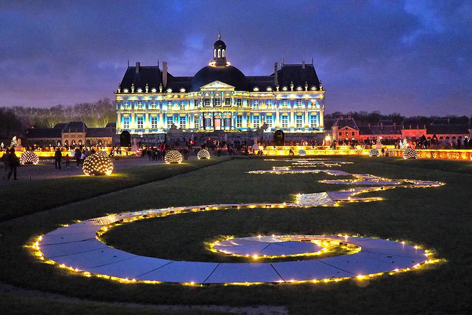 Video Mapping Schloss Vaux-le-Vicomte